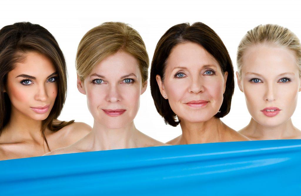 Разные типы старения кожи